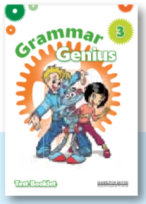 Grammar Genius 3: Test Booklet